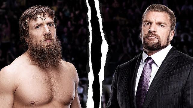 Triple H vs. Daniel Bryan