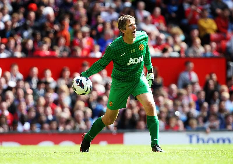 Edwin van der Sar Team-Mate XI revealed