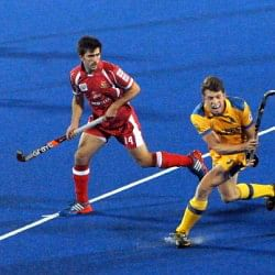 Punjab Warriors beat Mumbai Magicians 4- 1 to consolidate their position in HIL 2014