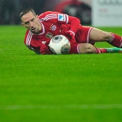 Bayern Munich's Franck Ribery out of Champions League first-leg clash against Arsenal