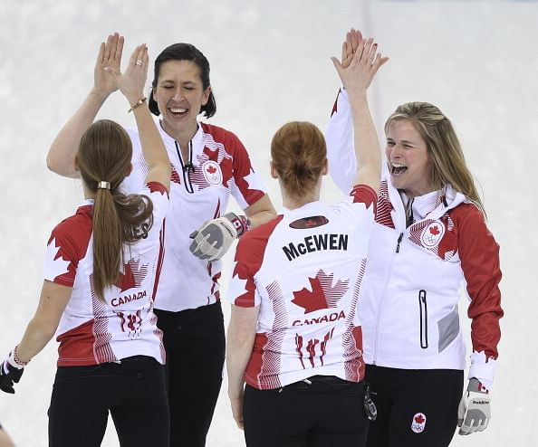 Canada wins Olympic women's curling gold