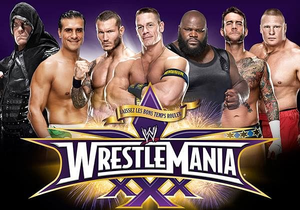 WWE replaces WrestleMania XXX poster featuring CM Punk