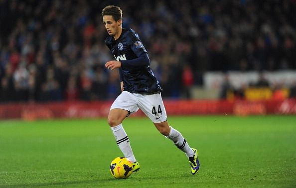 Manchester United player Adnan Januzaj