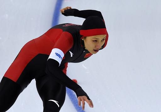 China wins first two Olympic golds three hours apart at Sochi