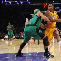 LA Lakers snap eight-game home losing streak, beat Boston 101-92