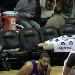 Chris Kaman's sleeping beauty pose goes viral, photoshop edits follow