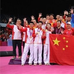 Reasons for China's domination in badminton