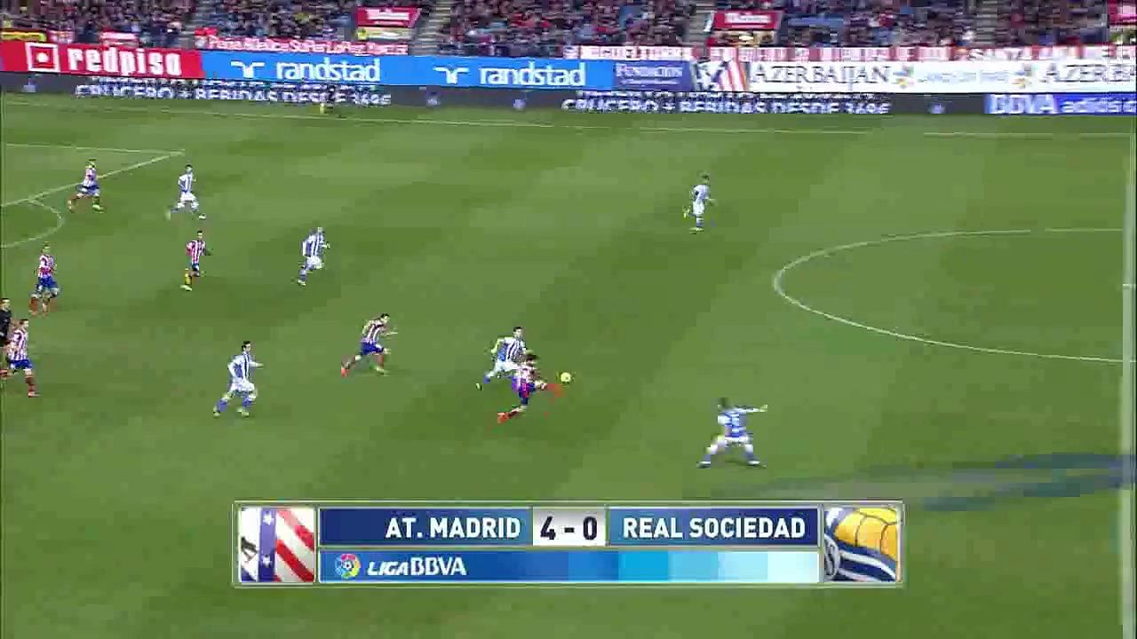Video: Atletico Madrid 4 – 0 Real Sociedad