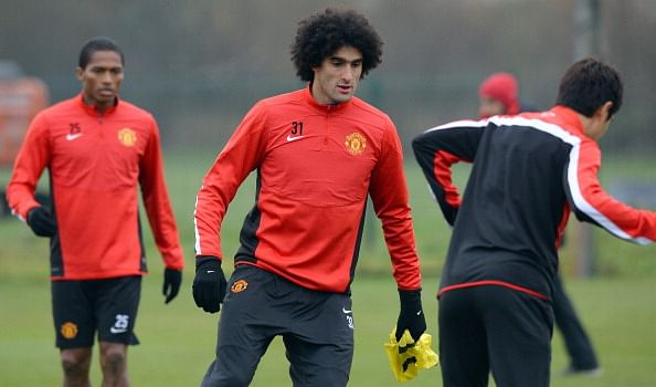 Manchester United midfielder Marouane Fellaini suffers new injury setback