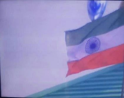 Indian flag hoisted upside down at the Asia Cup