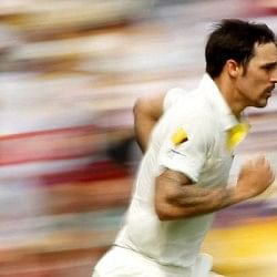 The unbridled joy of Mitchell Johnson