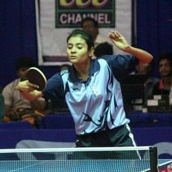 Up close with Krittwika Sinha Roy, West Bengal and India's bright young table tennis talent