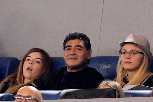 Diego Maradona outraged after Manchester United's David De Gea flirts with his girlfriend