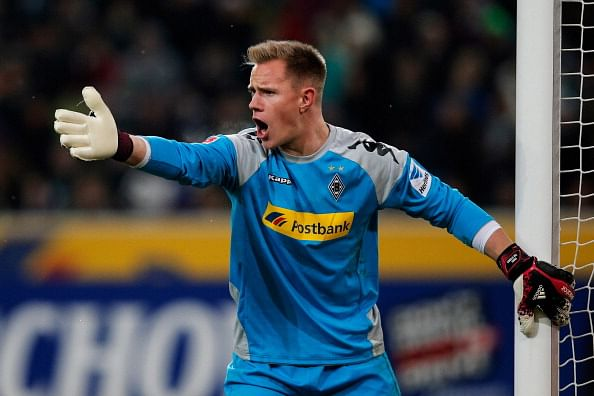 Marc-André ter Stegen scores an own-goal; earlier the opposition goalkeeper had scored an own goal