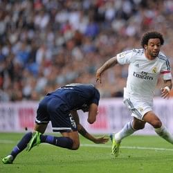 Real Madrid left back Marcelo racially abused by Atletico Madrid supporters