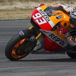MotoGP champion Marc Marquez breaks his leg in training accident