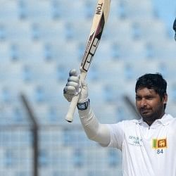 Kumar Sangakkara scores ton in 2nd innings; creates more records