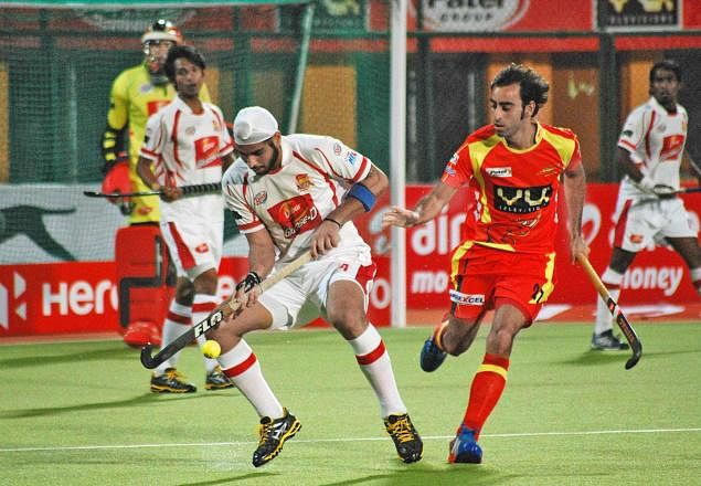 Hockey India League: Dabur Mumbai Magicians hold title holders Ranchi Rhino to 1-1 draw