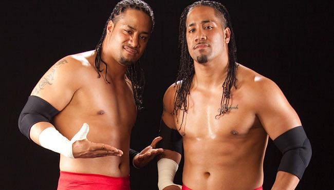 The Usos: Jimmy Uso and Jey Uso