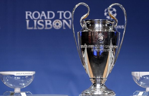 Full list of squad changes for the UEFA Champions League Round-of-16