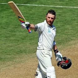 Brendon McCullum becomes first New Zealand batsman to score a triple century in Tests