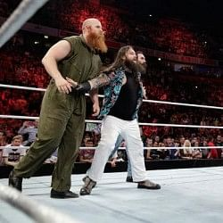 WWE Elimination Chamber 2014: The Wyatt Family taunt The Shield ahead of the 6-man tag team match