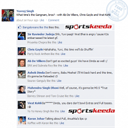 FB Wall: Yuvraj Singh's Gangnam Time