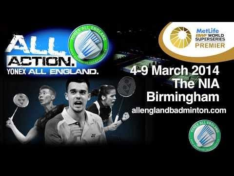 Video: Yonex All England Badminton Championships 2014 - Official Trailer
