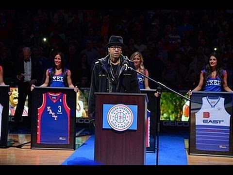 Video: Allen Iverson's number is retired by the Philadelphia 76ers