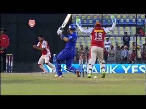 Video: Piyush Chawla bowls at 117km/hr and fools Shane Watson