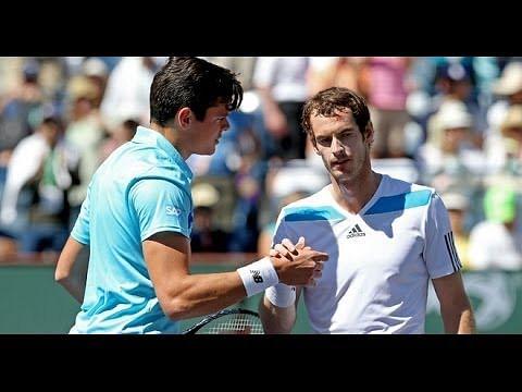 Video: Andy Murray vs Milos Raonic highlights, Indian Wells 2014