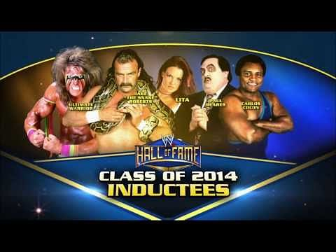 Carlito talks about his father's WWE Hall of Fame ...Wwe Hall Of Fame 2014 Inductees