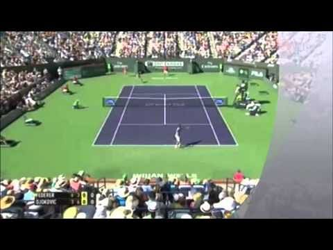 Video: Novak Djokovic vs Roger Federer highlights, Indian Wells 2014
