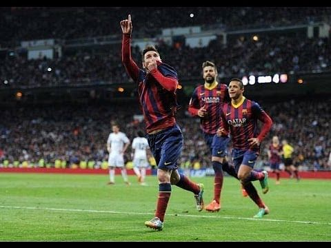 All of Lionel Messi's 21 goals in El Clasico