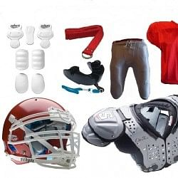 Protective equipment in American football and EFLI
