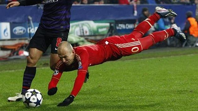 [SATIRE] Robben: I didn't dive against Arsenal. Also, the Pope is not Catholic