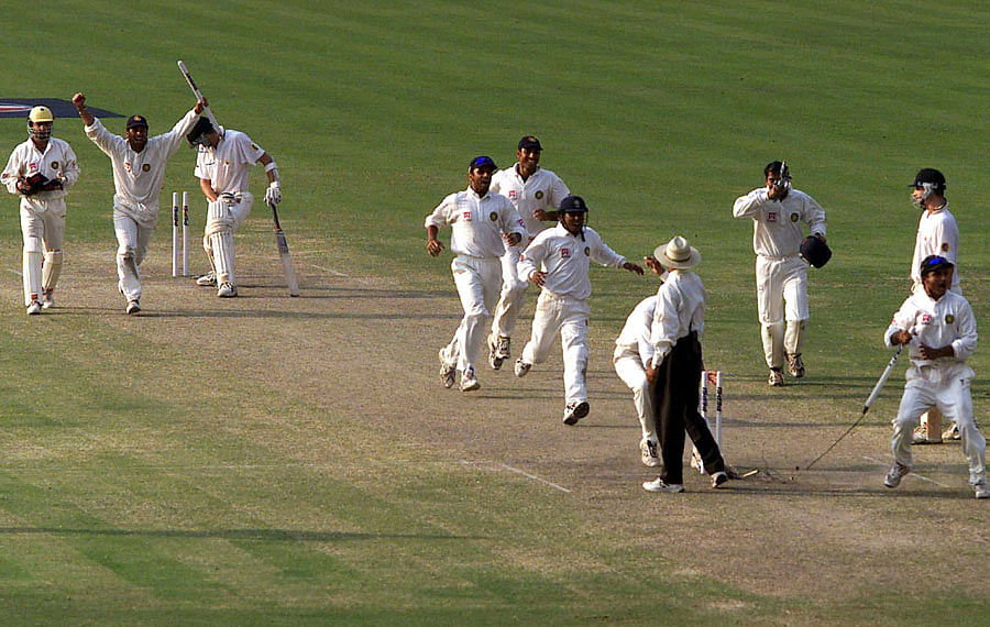 The legend of Eden Gardens 2001: Possibly, the greatest Test ever