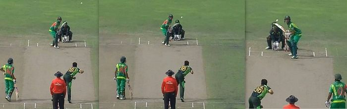 Asia Cup 2014: Abdur Rehman barred from bowling; finishes with figures of 0-0-8-0