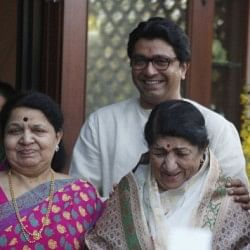 Sachin Tendulkar felicitated with Lata Mangeshkar at Raj Thackeray's residence