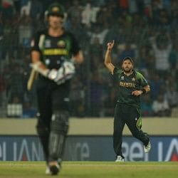 Shahid Afridi becomes 2nd cricketer to reach double of 10000 runs and 500 wickets in international cricket