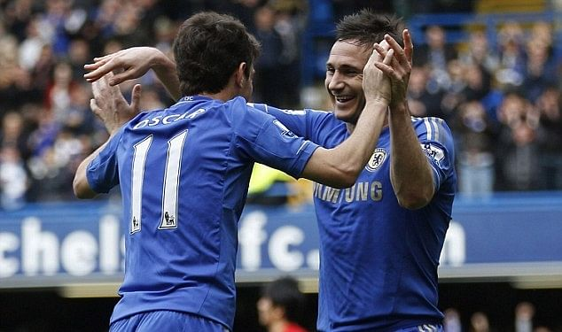 Tactical analysis: Comparing Frank Lampard's and Oscar's performances against Tottenham Hotspur