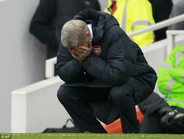 What is the reason for Arsenal's recent downslide after they made such a strong start to the season?