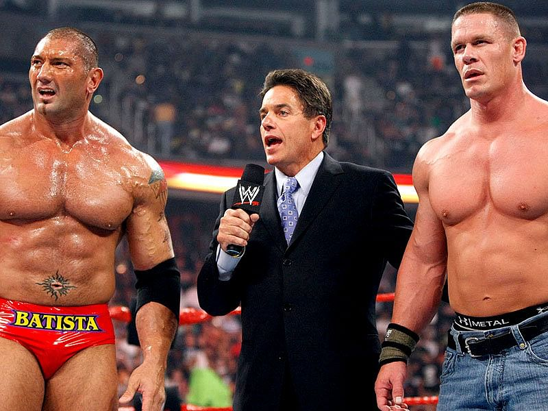 wwe live event results 8th march 2014 triple h john cena