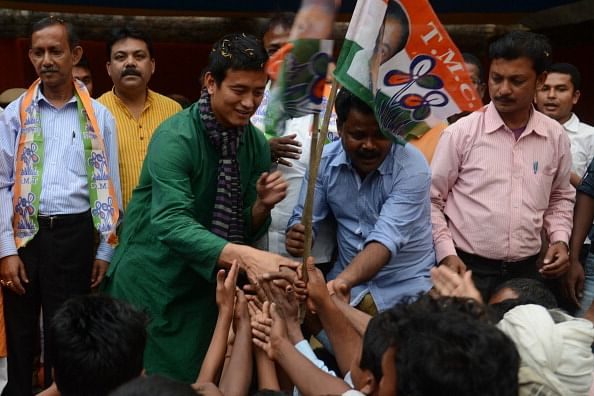 Bhutia files nomination from Darjeeling