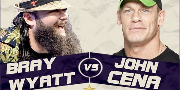 Bray Wyatt must defeat John Cena at WrestleMania 30