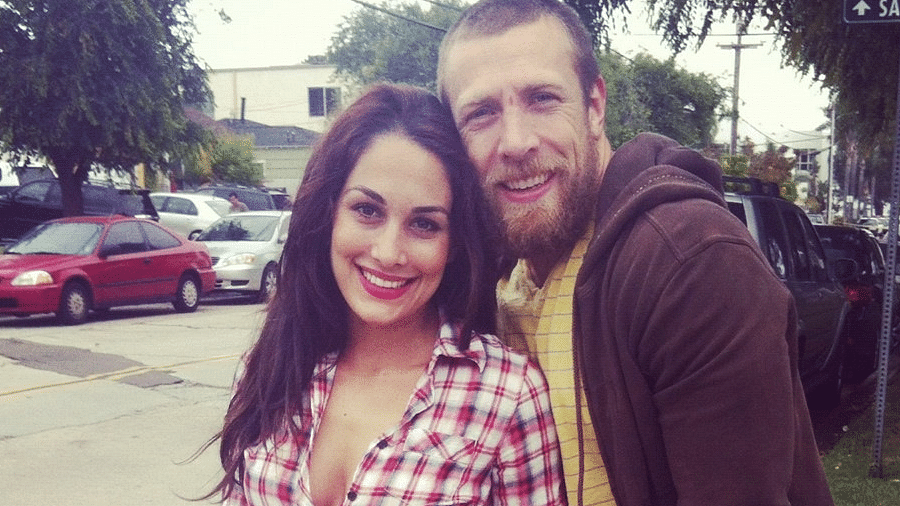Daniel Bryan with beautiful, Wife Brianna Garcia