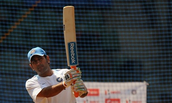 MS Dhoni clears doubts over his fitness with brutal batting in nets against Amit Mishra