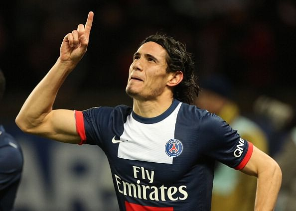 Rumour: Manchester United submit bid for PSG striker Edinson Cavani