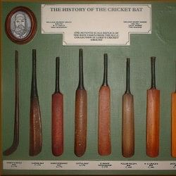 The origin and modification of cricket bats over the years