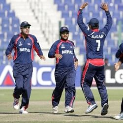 Nepal defeat UAE in World T20 practice match